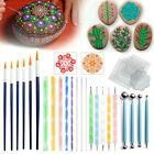 Mandala Dotting Tools For Rock Painting Kit Dot Art Rock Pen Painting Stencil image