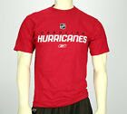 Reebok NHL Hockey Men's Carolina Hurricanes Team T-Shirt, Red $14.95 USD on eBay