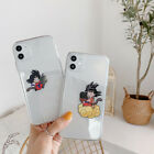Cute Spoof Dragon Ball Goku TPU Clean Phone Case For iPhone 11 Max 8 6s 7 XR XS $6.99 USD on eBay