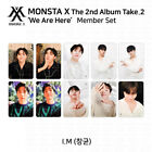 MONSTA X 2nd Album Take 2 We Are Here Official Photocard I.M IM KPOP K-POP
