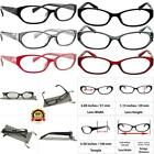 Reading Glasses 3 Pack with Red Gray Black Always Have a Stylish Look Crystal