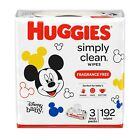 Huggies Simply Clean Baby Wipes *You Choose Scent/Count *Free Shipping