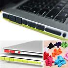 Silicone Rubber Anti-dust Plug Cover Stopper For Macbook Air Retina11 13ports_ew