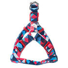 Adjustable Nylon Dog Harness Leash Set Printed Puppy Vest Pet Walking Train_TI