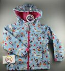 girls MY LITTLE PONY hooded shower rain nursery school coat jacket Light Weight