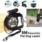 Dog Retractable Automatic Leash Walking 5/8m Rope Lead Pet Traction Leads x 1