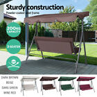 Canopy Swing Chair Hammock Garden Bench Seat Cushion Furniture 3 Seater Outdoor