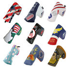 Golf Putter Cover Blade Headcover Funny Head Cover PU Leather Magnetic New Stlye