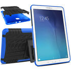"""Rugged Armor Case Rubber TPU Shockproof Cover For Samsung Galaxy Tab E 8.0"""" 9.6"""""""