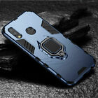 Hybrid Armor Shockproof Case Ring Holder Stand Cover For Huawei P20/Pro/Lite