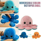 Octopus Doll Emotional Face Changing Double-Sided Flip Toy Octopus Doll