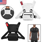 Men Chest Rig Vest Outdoor Harness Bag Hiking Pouch Crossbody Shoulder Bag Sport
