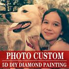 5D Full Drill Photo Custom Diamond Painting Embroidery Cross Stitch Kit Art Gift