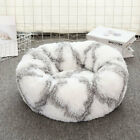 Dog Kennel Cat Litter Pet Bed Round Plush Winter Dog Pad Pet Pad Cat Pad Small