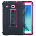 Heavy Duty Rubber Plastic Stand Case Cover For Samsung Galaxy Tab S2 S3 8.0 9.7
