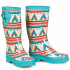 M&F Western Womens Ladies Dakota Southwest Round Toe Leg U-8110