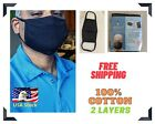 ARMORVENT 100% Cotton Reusable cloth face mask  - Ships from USA with Tracking*