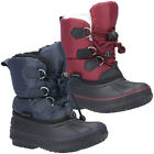 Cotswold Boys Explorer Bungee Lace Weatherproof Snow Boots