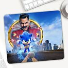 Sonic The Hedgehog Mousepad Game Computer Mat Pad Anti-slip Rectangle Rubber