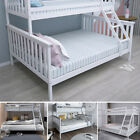 Triple Sleeper Bunk Bed Wooden Bed Frame for Children Adults w/ Stairs,Headboard