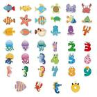 Cartoon Waterproof Antiskid Bath Crock Stickers Children Home Decoration Gift