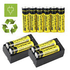 BRC 18650 3.7V Battery Li-ion Rechargeable Batteries For LED Flashlight Toys USA