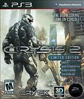 Crysis 2 - PS3. Limited Edition. Complete with manual!