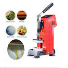 Portable Hydraulic Heat Press Machine 300W Dual Side Heating 5 7cm Oil Extractor