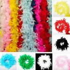 Wedding Party Hen Night Feather Boa Strip Fluffy Craft Fancy Costume Dress O3g2