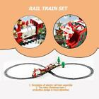 Christmas Electric LED Musical Train & Track Set Toys Xmas Home Decor Gift Z6Y8