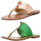 Steve Madden Women's Olivia Leather Thong Sandals, Color Options