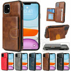 For Huawei P40 P30 Pro Mate 30 Pro Slim Leather Card Stand Slot Back Case Cover