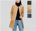 Uniqlo Women Ultra Light Down Compact Coat Black Beige Olive Navy NWT