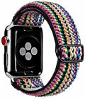 Adjustable Elastic Watch Band Compatible with Apple Watch Series SE/6/5/4/3/2/1