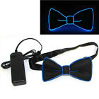 Light Up Men's LED Suspenders Bow Tie Perfect for Music Festival Costume Party