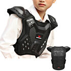Kids Chest Protector Skateboard Motorcycle Armoured Vest Protective Gear Guards