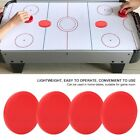 4Pcs Plastic Air Ice Hockey Pucks Piece Replaceable for Tables Game Equipment