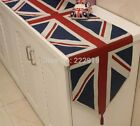Classical British flag table runner dinging table shoe cabinet cover home Decor