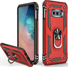 Samsung Galaxy S10 Case Ring Kickstand Heavy Duty Shockproof Hybrid Cover Rugged