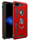 iPhone 7 Plus Case Ring Kickstand Heavy Duty Cover Dual Layer Protective Hybrid