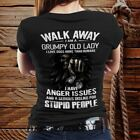 Walk Away Im A Grumpy Old Lady I Love Dogs More Than Humans Unisex T-shirt