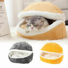 Pet Cat Calming Bed Cushion House Soft Warm Kennel Blanket Nest Washable Pad UK