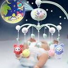 Song Bed Bell Crib Musical Mobile Cot Night Light Music Box Baby Rattles Toy