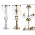 Crystal Flower Stand Gold/Silver Flower Vase Wedding Centerpiece Wedding Road