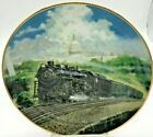Artaffects Great American Trains Railroad Plates Limited Edition Numbered & COA
