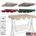 """Patio Outdoor Garden Swing 300D Canopy Replacement Porch Top Cover Seat 89""""x73"""""""