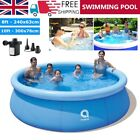 Large Family Swimming Pool Garden Outdoor Summer Kids Inflatable Paddling Pools