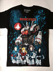 ROBOTECH T-Shirt RARE Embroidered Logo Manga Anime Mecha Robot Giant Macross