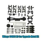 Wltoys 144001 Rc Car Upgrade Metal Set Spare Parts Drive Shaft Steering Hub