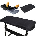 Black Waterproof On Stage Keyboard Dust Cover for 61 88 Key Keyboards Piano Accs